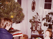 First Lights1978. Daughter Ryan reacts to my plugging in the Christmas .
