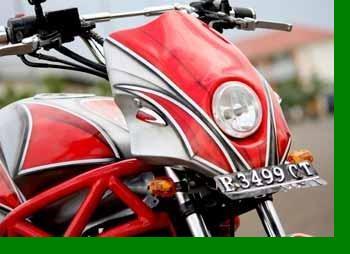Kumpulan Foto Modifikasi Motor Yamaha Jupiter Mx