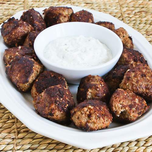 Turkey Meatballs with Romano Cheese and Herbs