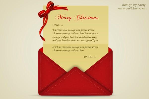PSD Christmas Greetings Letter