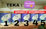 Giveaway by vitaminsyaza.blogspot.com