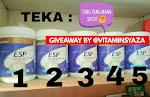 Giveaway by vitaminsyaza.blogspot.com
