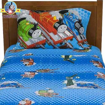 Stylish child slumberland bedding Thomas the tank engine products single ordinary size pillowcase