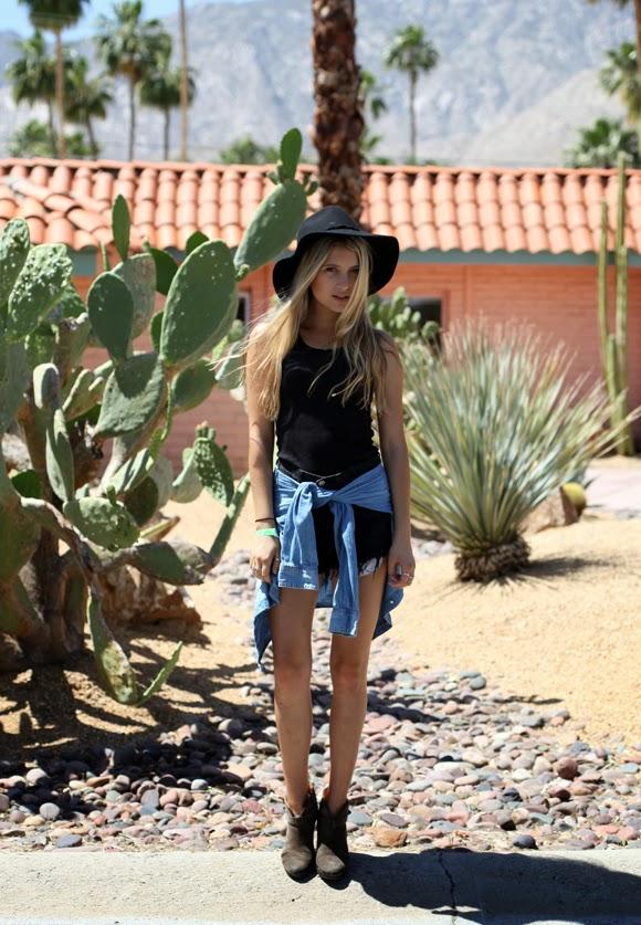 Coachella Street Style Fashion Photography