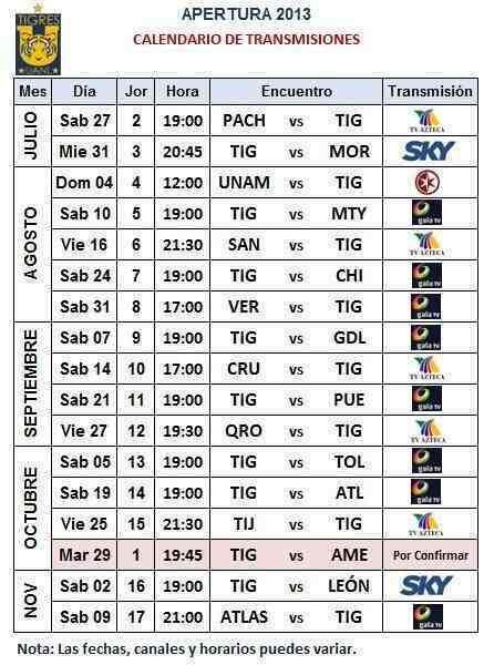 """... Results for """"Calendario De Tigres 2015 2016"""" – Calendar 2015"""