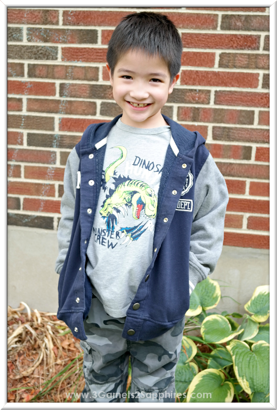 OshKosh back-to-school trends for boys #OshKoshFirstDay | www.3Garnets2Sapphires.com