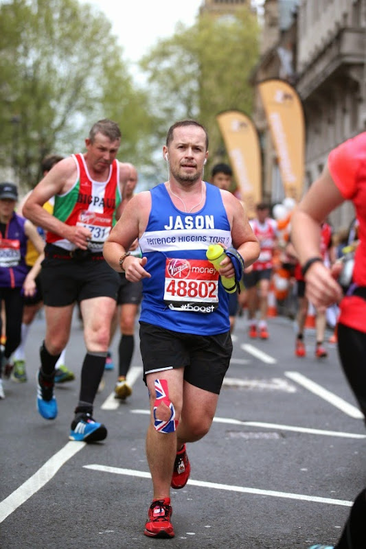 London Marathon 2015 charity runner