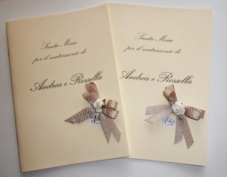 Estremamente nonsolopreziosi: Libretti Chiesa per Matrimonio PC02