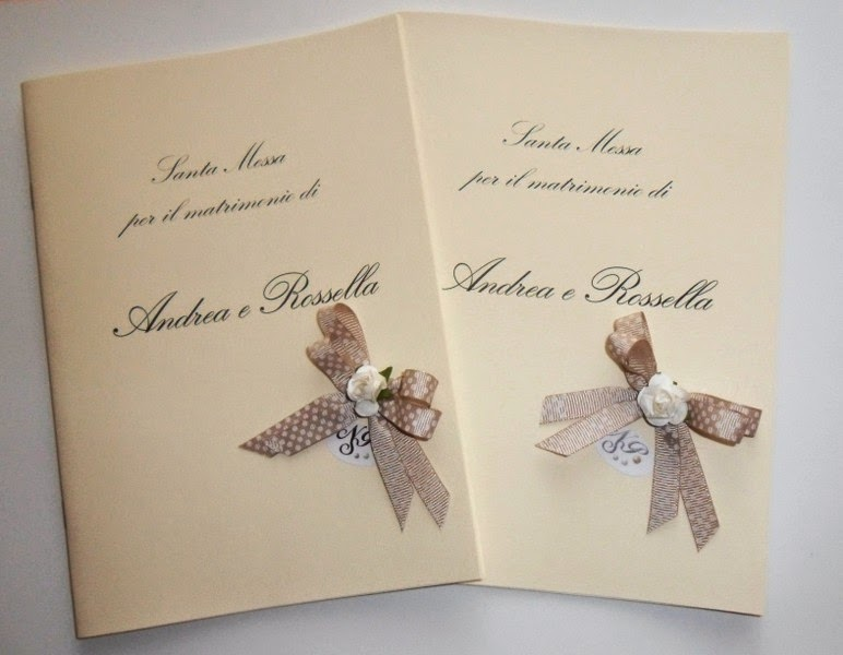 Libretto Matrimonio In Word : Nonsolopreziosi libretti chiesa per matrimonio