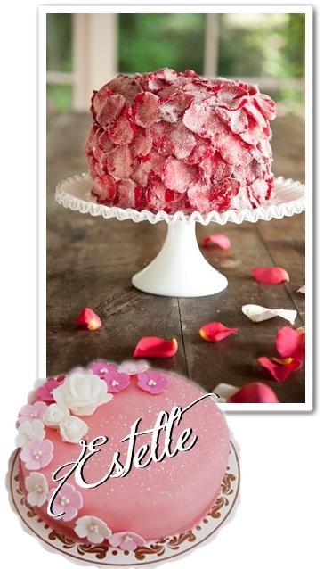 rosentårta, kanderade rosenblad, prinsesstårta, estelltårta, prinsessan estelle, prinsessan estelle dop