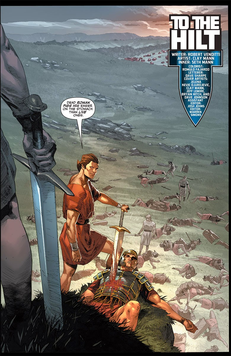 X-O MANOWAR Origins in Ancient Rome