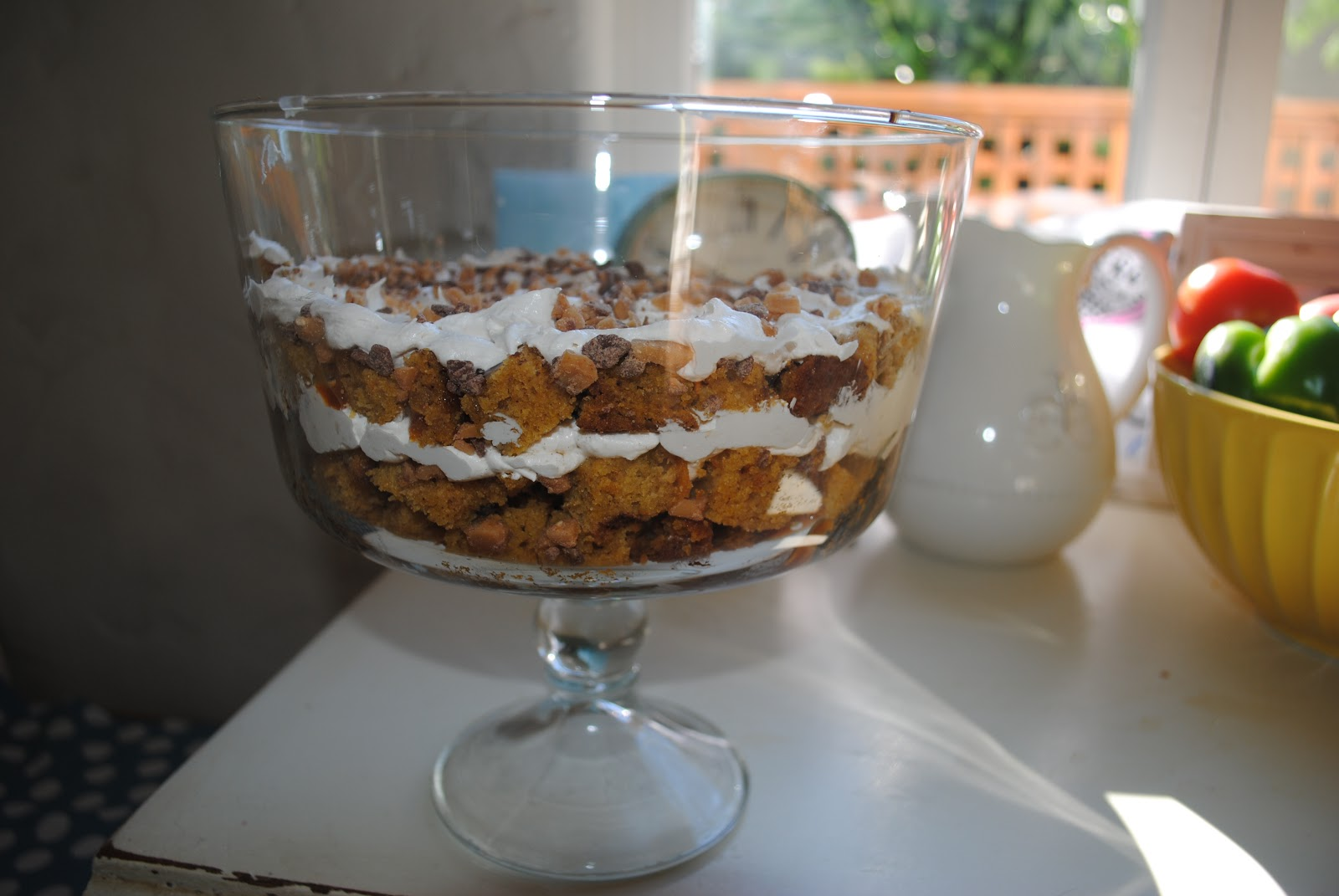 Well-Traveled Wife: two pumpkin trifle recipes