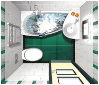 Minimum dimensions for a bath. Bathroom plans design