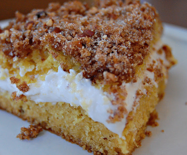 Serenity Cove: The Best Cream Filled Coffee Cake