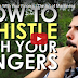 This Man Shows Us A Strange Trick To Whistling RIDICULOUSLY Loud!