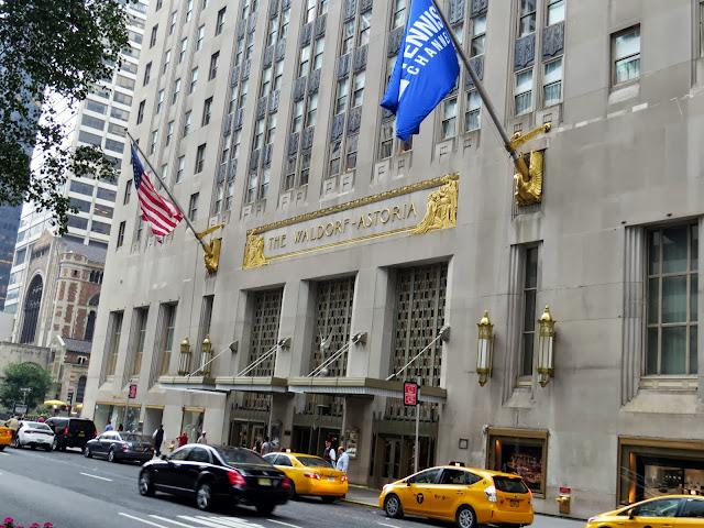 The Waldorf Astoria Entrance