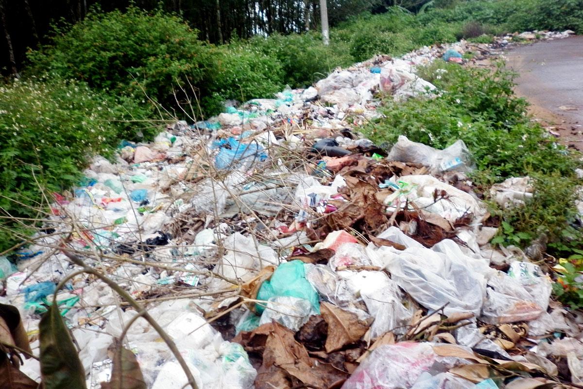 Gia Lai: Rác thải - Bài toán khó giải - Báo động rác thải khu vực nông thôn (1)