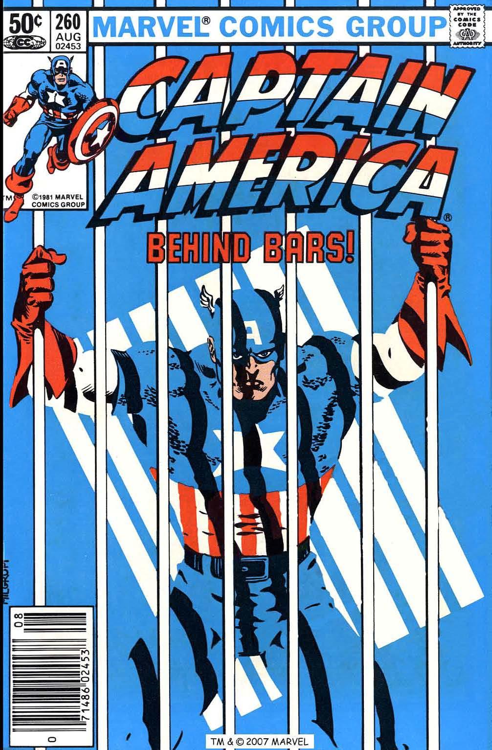 Captain America (1968) Issue #260 #175 - English 1