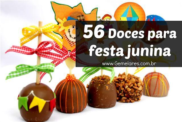 56 Doces para festa junina