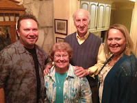 Gwen and I with Pastor Jack and Anna Hayford