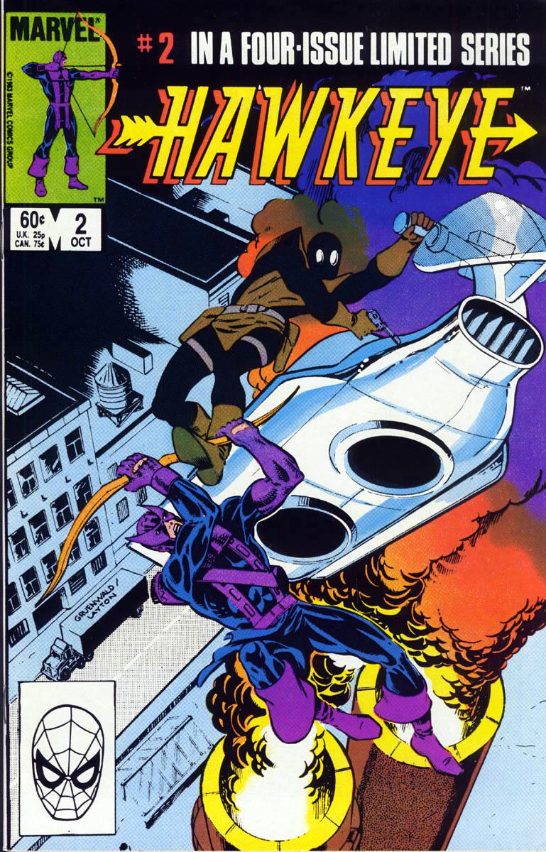 Hawkeye (1983) Issue #2 #2 - English 1