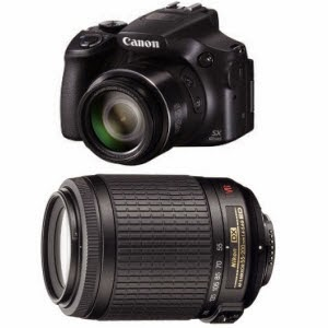 Buy Canon PowerShot SX60-HS 16.1MP Digital SLR Camera Rs.24999 or Rs 23499 (SBI , Last Date)
