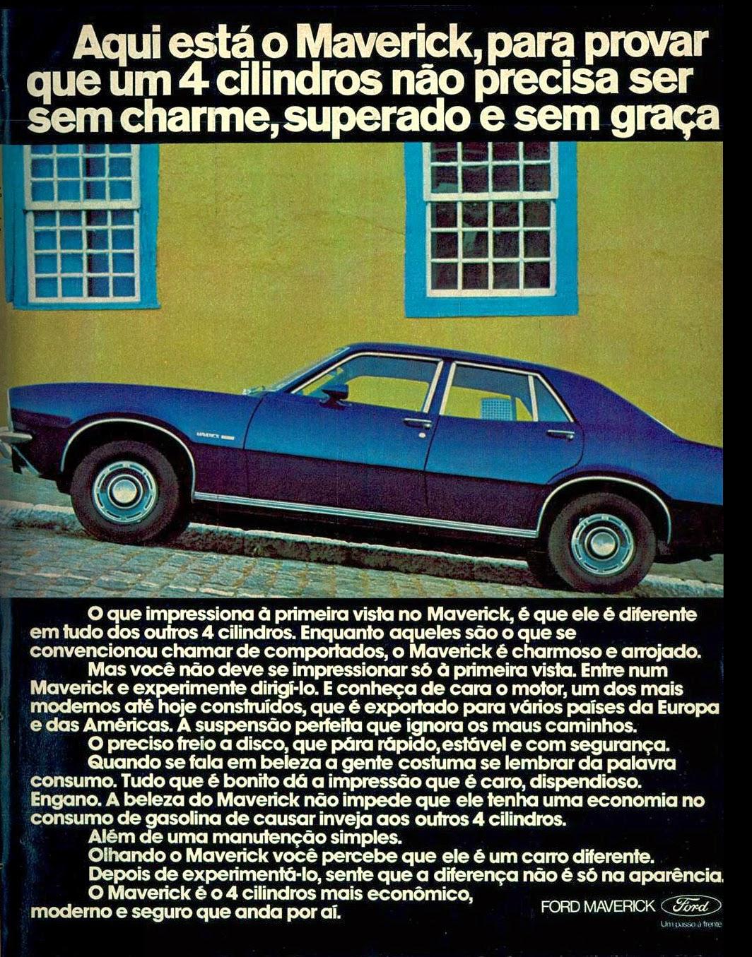 1975. brazilian advertising cars in the 70. os anos 70. história da década de 70; Brazil in the 70s; propaganda carros anos 70; Oswaldo Hernandez;