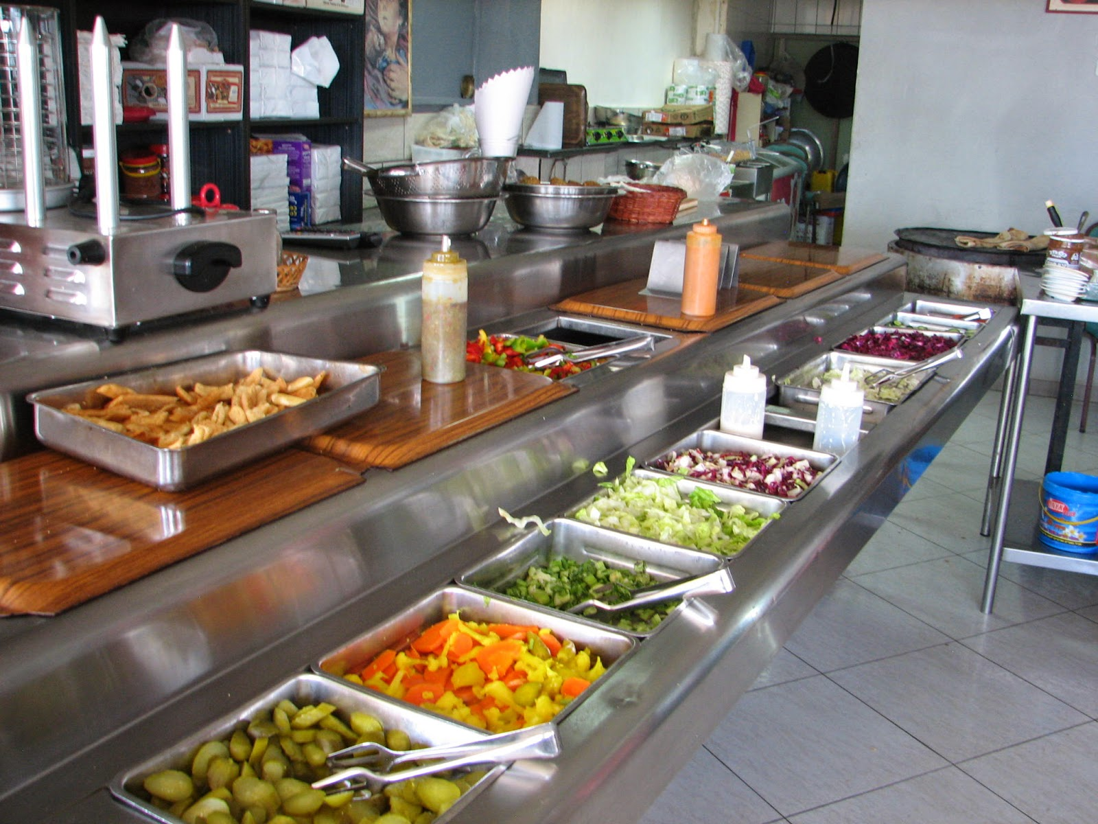A closer walk israel virtual tour 2014 day 4 the for Food bar in cahaba heights
