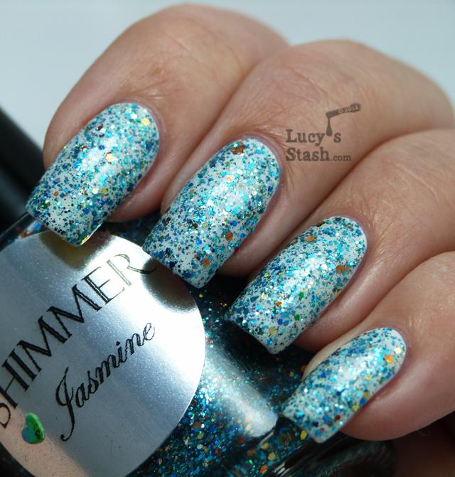 Lucy's Stash - Shimmer Polish Jasmine