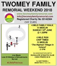 4 mile nr Newmarket, NW Cork... Sun 10th June 2018