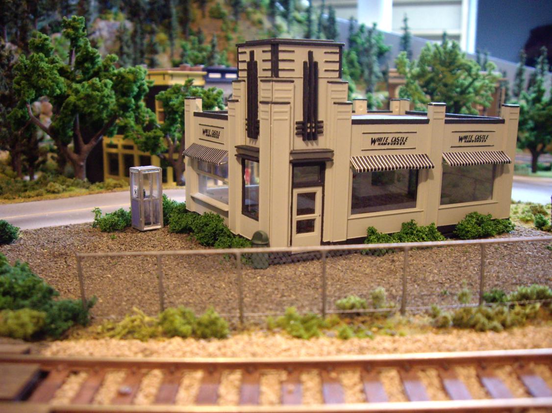 White Castle Model Train