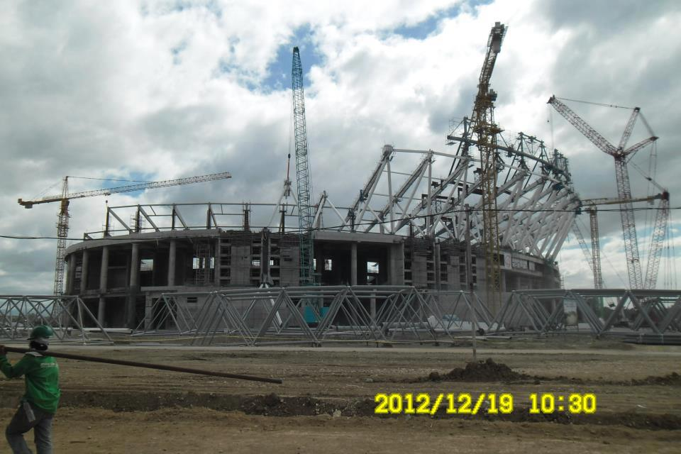 Philippine Arena Dec. 2012 UPDATE