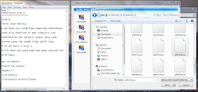 2013 06 27 204605 Cara Setting Dan Menggunakan SSH , Proxifier, Bitvise By Grizenzio