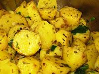 Batata-Doce Refogada com Ervas Finas (vegana)