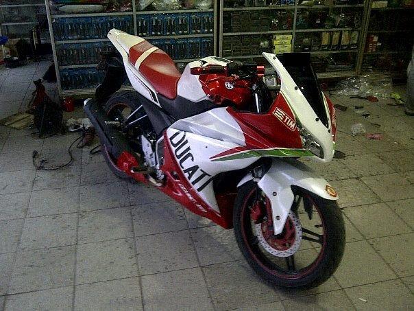 Foto Yamaha New Vixion Modif