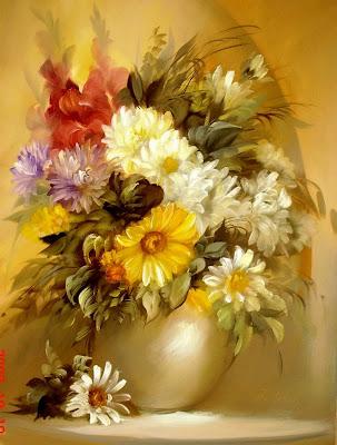 flores-en-imágenes pinturas-de-flores