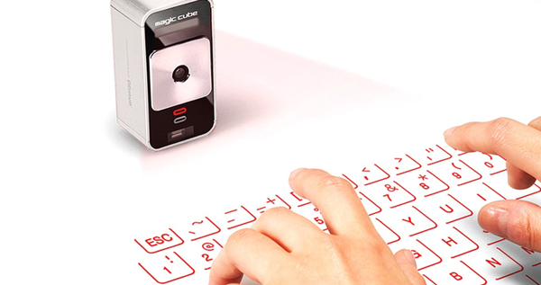 Celluon Magic Cube Projection Keyboard and Touchpad