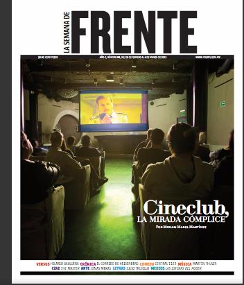 Cineclub, la mirada cómplice por Miriam M. Martínez