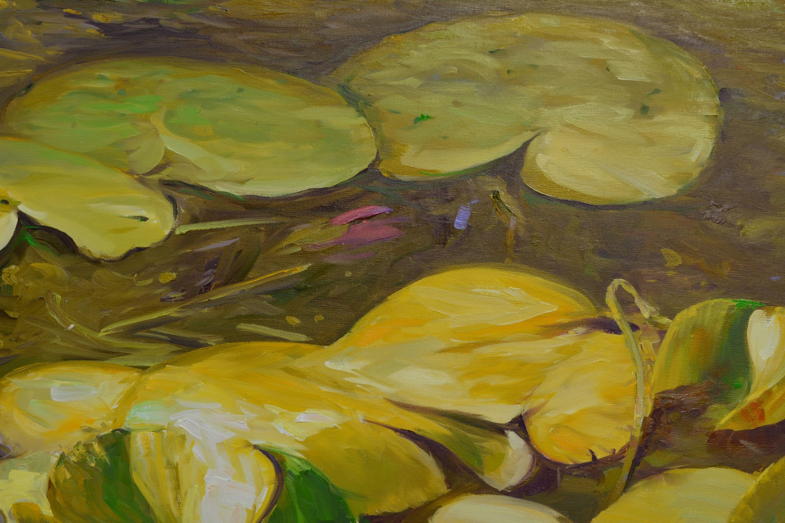 Chuck Larivey OPA, Oil Painter: A weeks worth of paint and canvas