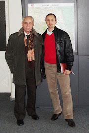 Împreună cu Acad. Ioan Mitrea, Muzeul de Istorie şi Arheologie din Piatra Neamţ, 4.XI.2011...