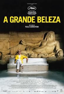 """Poster do filme """"A Grande Beleza"""""""