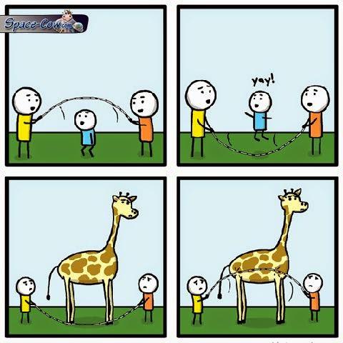 funny giraffe comics picture