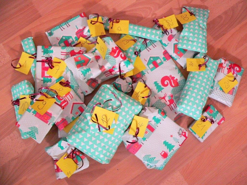 24 Geschenke