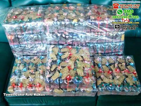 Towel Cake Roti Kukus Handuk Semarang