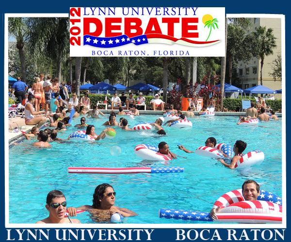 Lynn University Boca Raton Red White and Pool Party October 2012