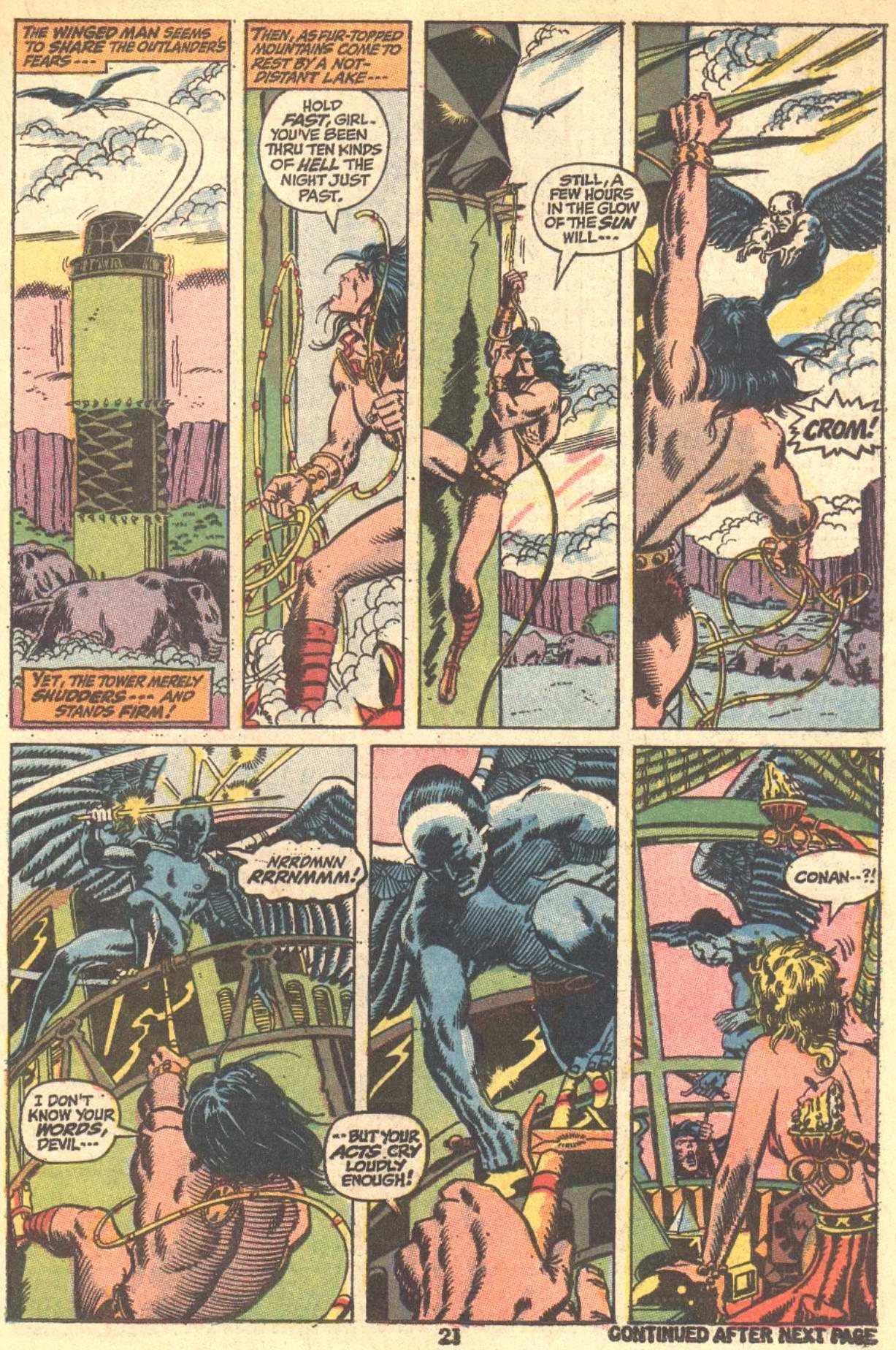 Conan the Barbarian (1970) Issue #9 #21 - English 16