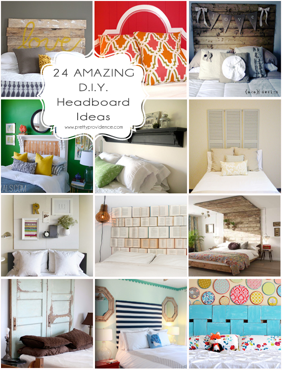 24 AMAZING DIY Headboard Ideas | Pretty Providence