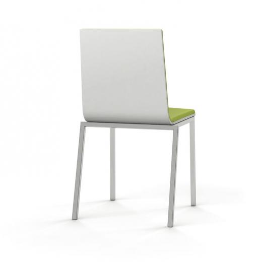silla moderna basic bicolor | tu Cocina y Baño