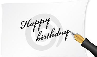 mengucapkan selamat ulang tahun, mungkin beberapa Puisi Ucapan Ulang