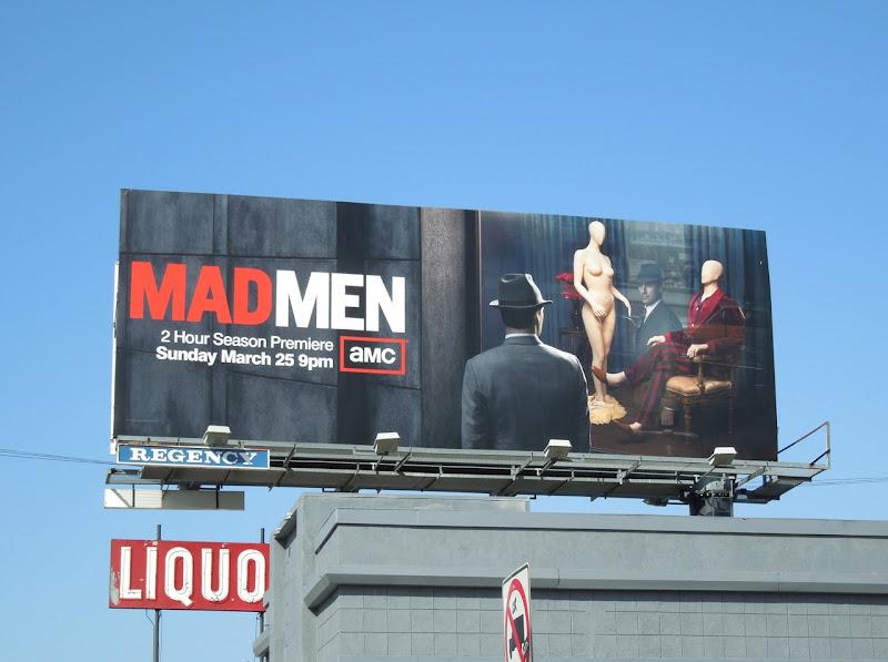 Mad Men season 5 premiere billboard